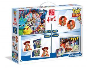 EDUKIT - hry Clementoni  -  4v1  Toy Story 4  18058