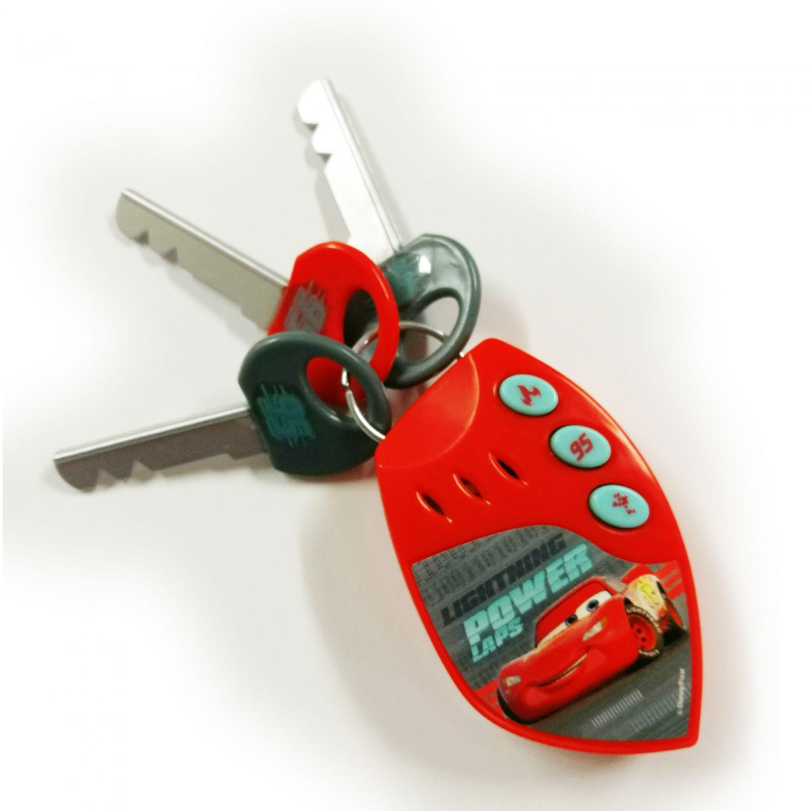 Klíče k autu s dálkovým ovládáním a alarmem - Cars AS Company
