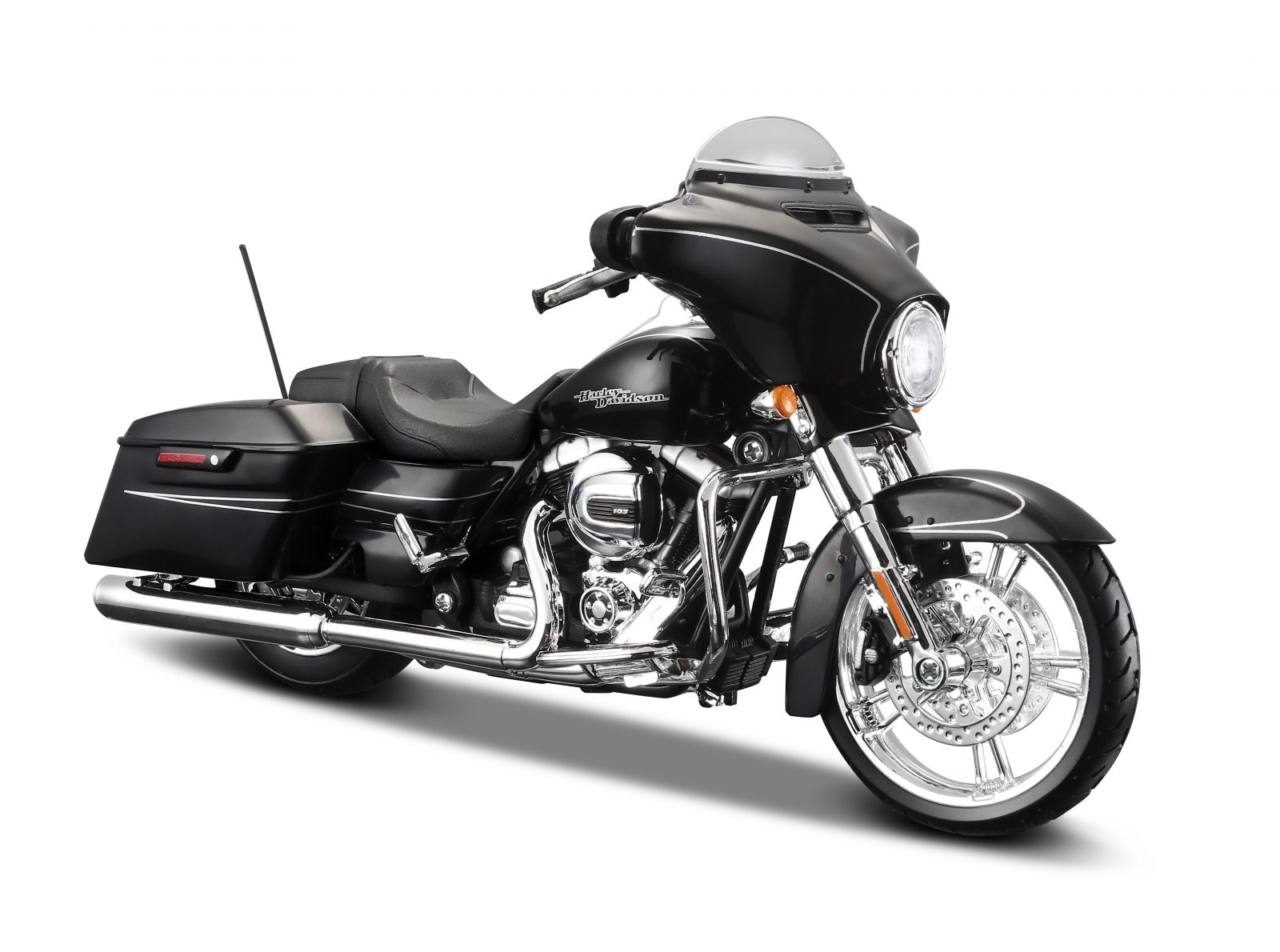 Maisto Harley Davidson 2015 Street Glide Special 1:12 černá