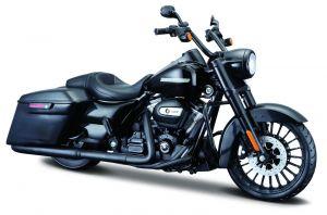 Maisto Harley Davidson 2017 Road King Special  1:12 černá