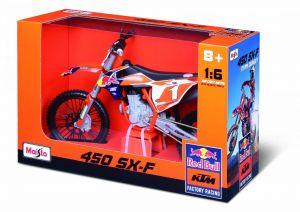 Maisto Husqvarna KTM 450 SX-F Red Bull Supercross no 25 1 1:6