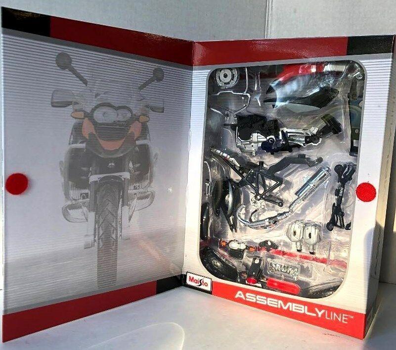 Maisto motorka 1:12 Kit - BMW R 1200 GS černá