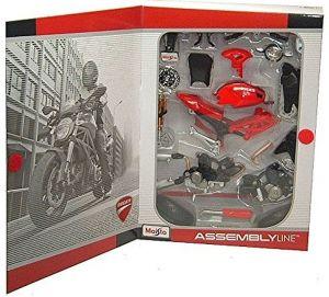 Maisto motorka 1:12 Kit - Ducati Monster 696 2011  červená