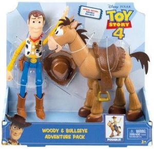 Mattel -  2 figurky Toy Story - Woody + Mustang