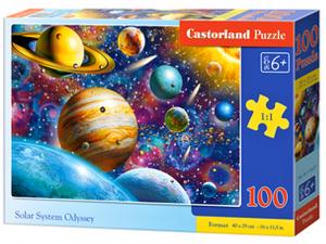 Puzzle Castorland 100 dílků premium  - Sluneční soustava   111077