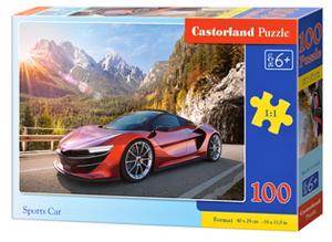 Puzzle Castorland 100 dílků premium  - Sportovní auto v horách   111107