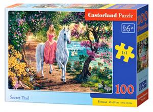 Puzzle Castorland 100 dílků premium  - Tajná stezka   111114