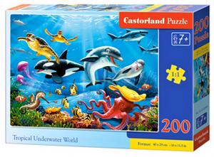 Puzzle Castorland 200 dílků premium  - Tropický podvodní svět  222094