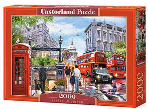 Puzzle Castorland 2000 dílků  Jaro v Londýně   200788