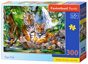 Puzzle Castorland 300 dílků - Dva tygříci 030385