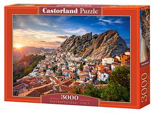Puzzle Castorland 3000 dílků  -  Pietrapertosa, Itálie  300549
