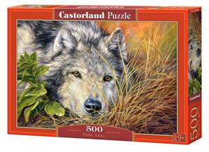 Puzzle Castorland 500 dílků - Čistá duše ( vlk ) 53285