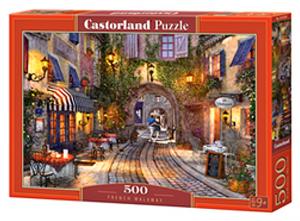 Puzzle Castorland 500 dílků - Francouzská ulička  53261