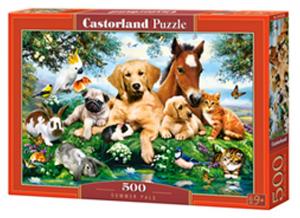 Puzzle Castorland 500 dílků - Letní kamarádi 53230