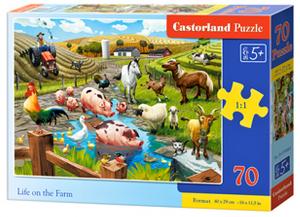 Puzzle Castorland 70 dílků premium  - Život na farmě   070060