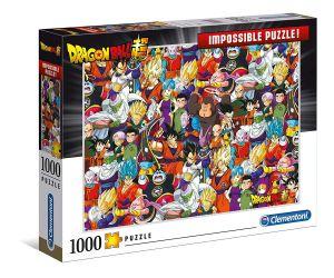 Puzzle Clementoni 1000 dílků - Nekoneční Dragon Ball   39489