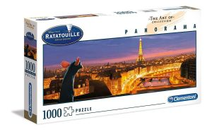 Puzzle Clementoni 1000 dílků  panorama - Ratatouille    39487