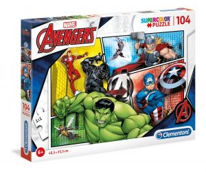 Puzzle Clementoni  - 104 dílků  - Avengers   27284