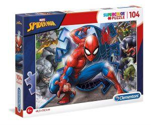 Puzzle Clementoni  - 104 dílků  - Spiderman   27116