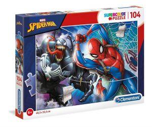 Puzzle Clementoni  - 104 dílků  - Spiderman   27117