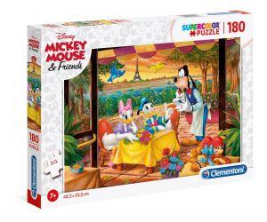 Puzzle Clementoni 180 dílků  -  Disney v Paříži  29296