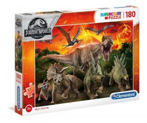 Puzzle Clementoni 180 dílků  -  Jurassic World  29299