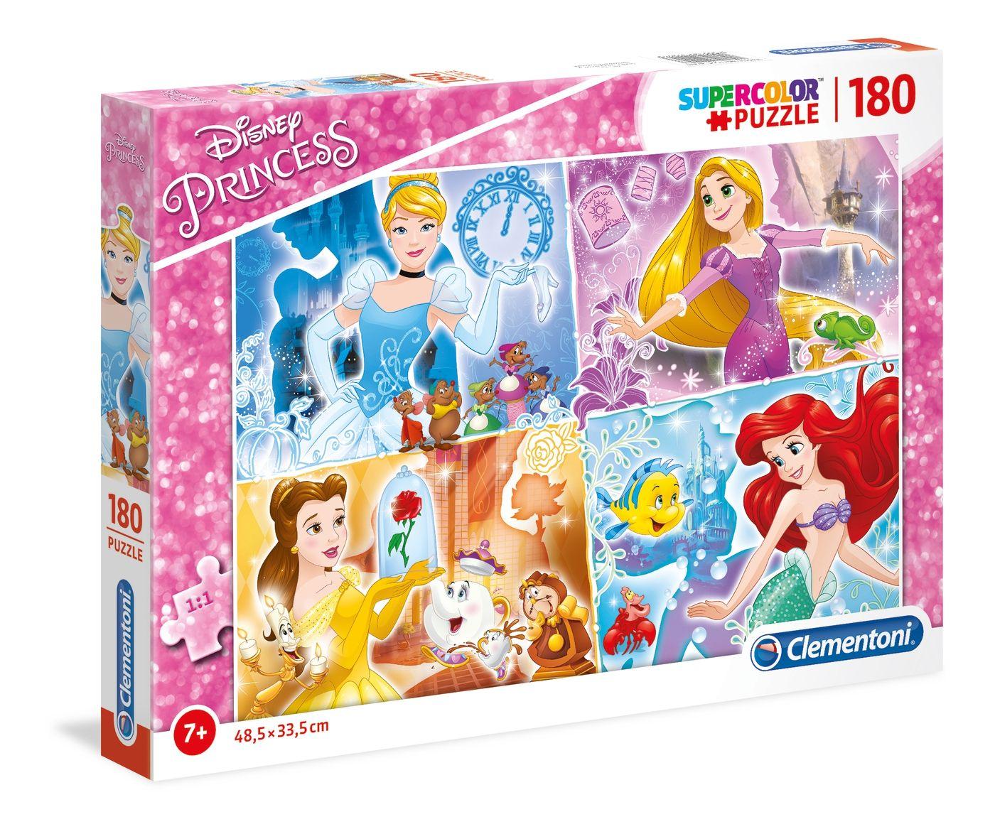 Puzzle Clementoni 180 dílků - Princezny 29294