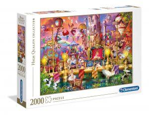 Puzzle Clementoni 2000 dílků - Cirkus   , Clementoni 32562