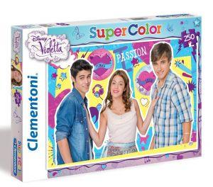 Puzzle Clementoni 250 dílků  - Violetta  29695