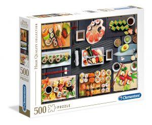 Puzzle Clementoni 500 dílků  - Sushi    35064