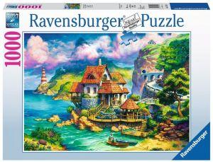 puzzle Ravensburger 1000 dílků - Dům na útesu  152735