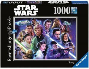 Puzzle Ravensburger 1000 dílků - Star Wars - edice 7     198887