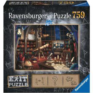 puzzle Ravensburger 759 dílků - Exit - Hvězdárna 199501