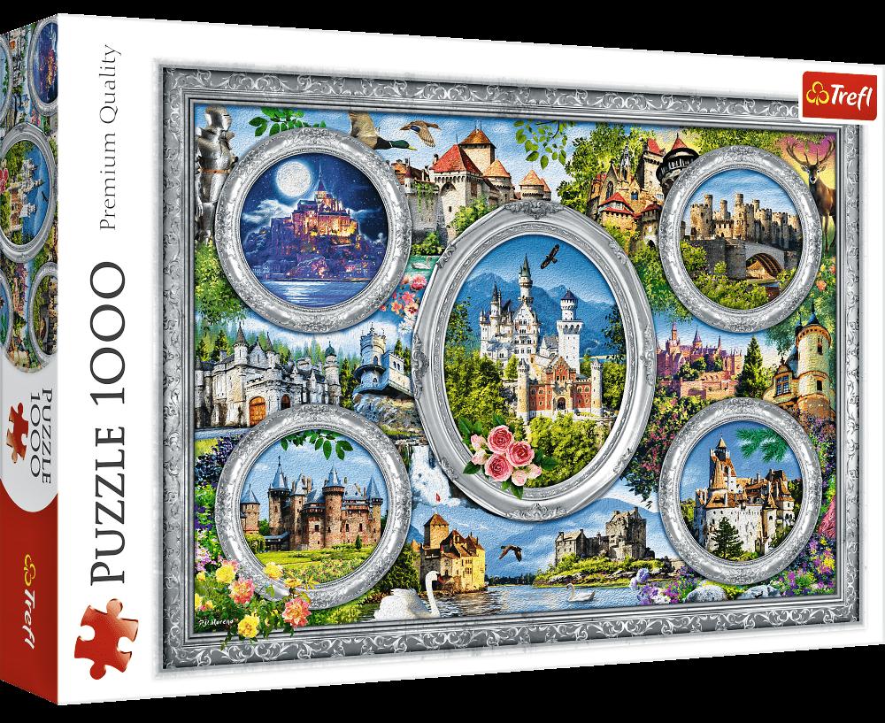 Puzzle Trefl 1000 dílků - Lo Coco - Hrady světa 10583