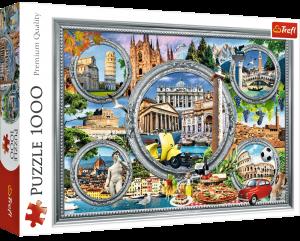 Puzzle Trefl  1000 dílků  - Lo Coco -  Italské památky   10585