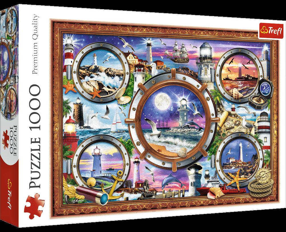 Puzzle Trefl 1000 dílků - Lo Coco - Majáky světa 10584