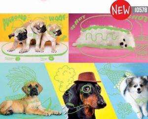 Puzzle Trefl  1000 dílků  - Neon Color Line - Sportovní psi 10578
