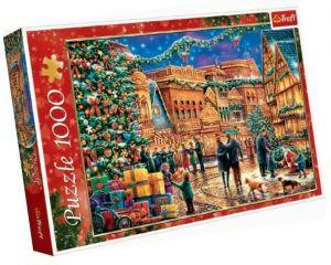 Puzzle Trefl  1000 dílků  -  vánoční náměstí  10554