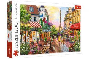 Puzzle Trefl 1500 dílků -  Kouzlo Paříže   26156