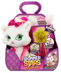 Shimmer Stars - třpytivý plyšák - Kočička s hůlkou