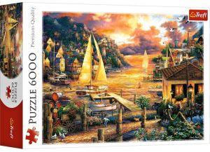 TREFL Puzzle   6000 dílků - Chuck Pinson - Chytání snů   65005