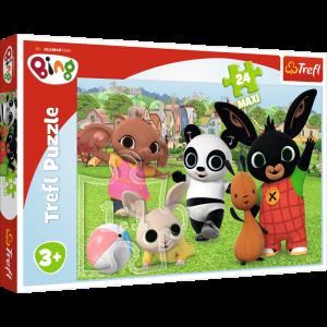 Trefl Puzzle Maxi 24 dílků - Bing - zábava v parku  14306