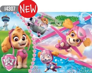 Trefl Puzzle Maxi 24 dílků - Psí patrola - hrdinka Skye  14307