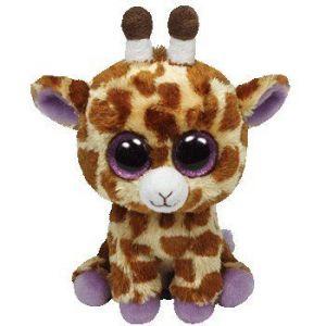 TY Beanie Boos - Safari - hnědá žirafa    36011 - 15 cm plyšák