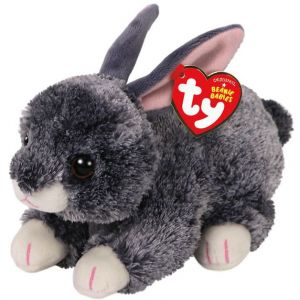 TY Beanie Boos - Smokey - šedý králíček  42266  -  15 cm plyšák