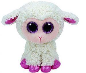 TY Beanie Boos - Twinkle - béžová ovečka   37091 - 24 cm plyšák