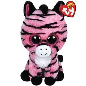 TY Beanie Boos - Zoey - růžová zebra   36147 - 15 cm plyšák