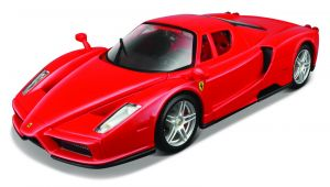 Maisto  1:24 Kit FERRARI  - Ferrari  Enzo - model  ke skládání  - červená  barva