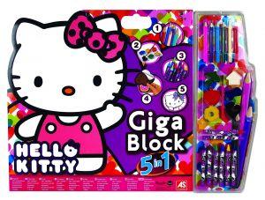 AS - set 5v1 pro malého umělce - Hello Kitty