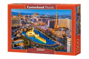 Castorland  Puzzle 1500 dílků  Las Vegas   151882
